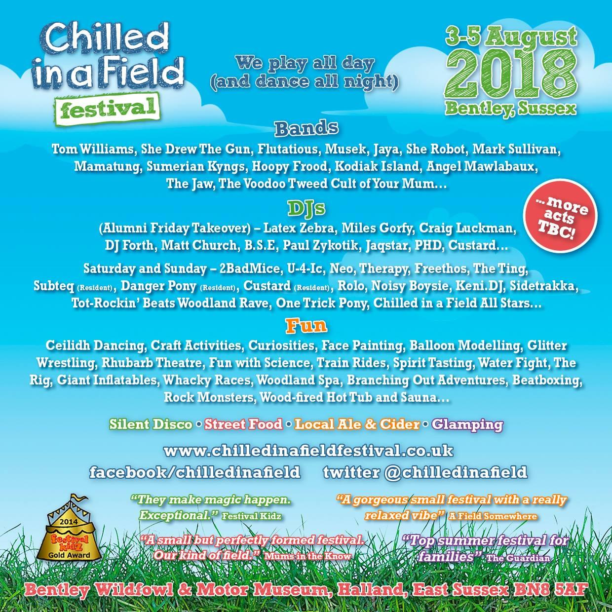 Chilled in the Field Festival