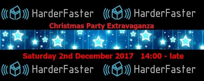 HarderFaster Christmas Party 2017